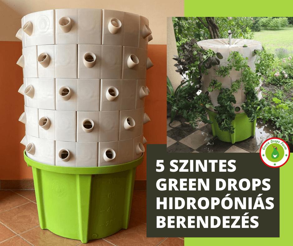 greendrops 5 szintes g