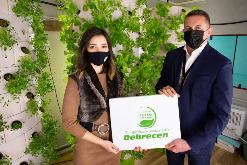 Fenntartható Debrecen Díj - Green Drops Farm 2021