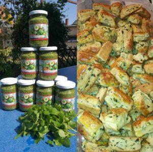 Green Drops Farm Vizitormás Pesto és Nagyi Vízitormás pogácsája