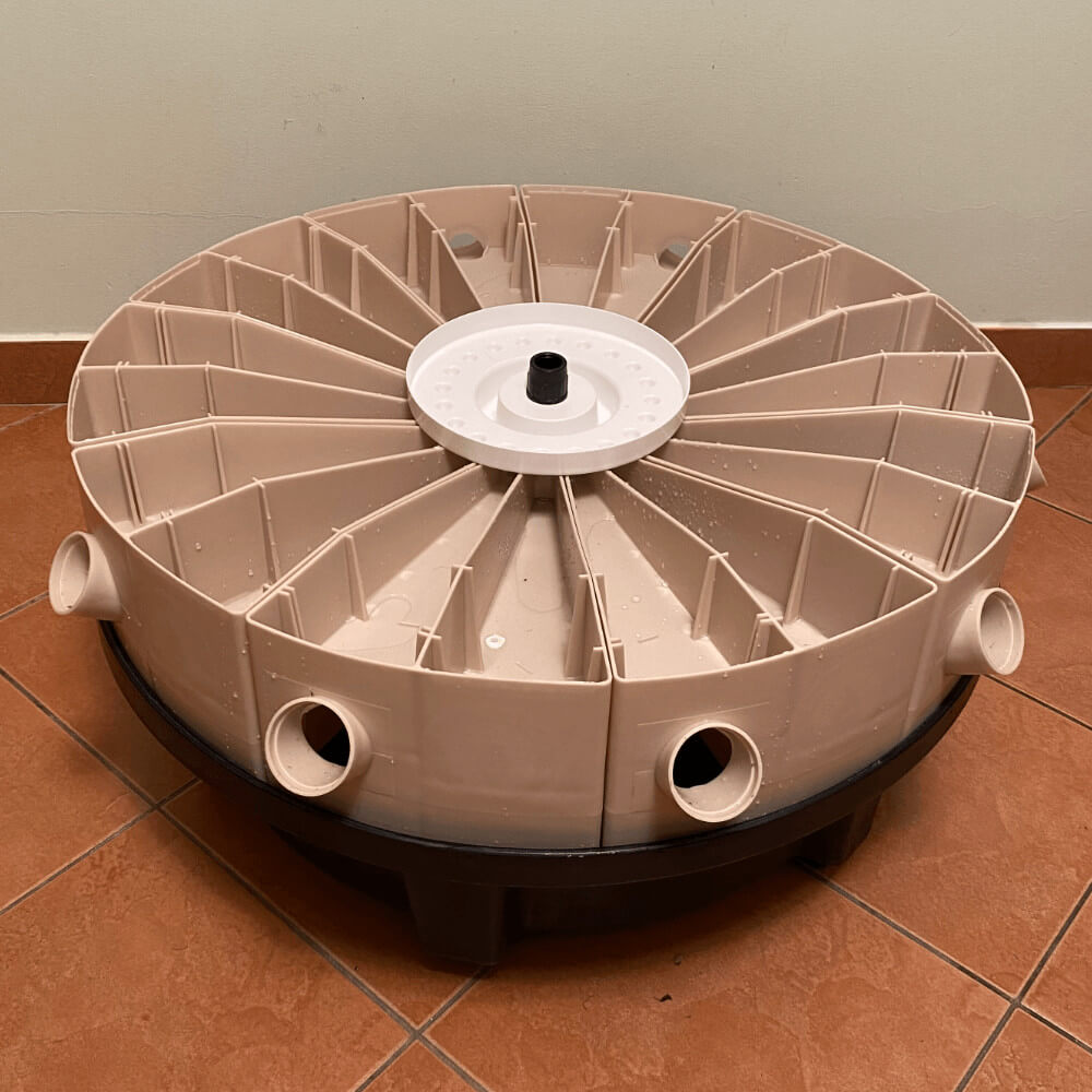 Sistema Hidropónico Easy 1 nivel Mini GDFEASY 00 A 2